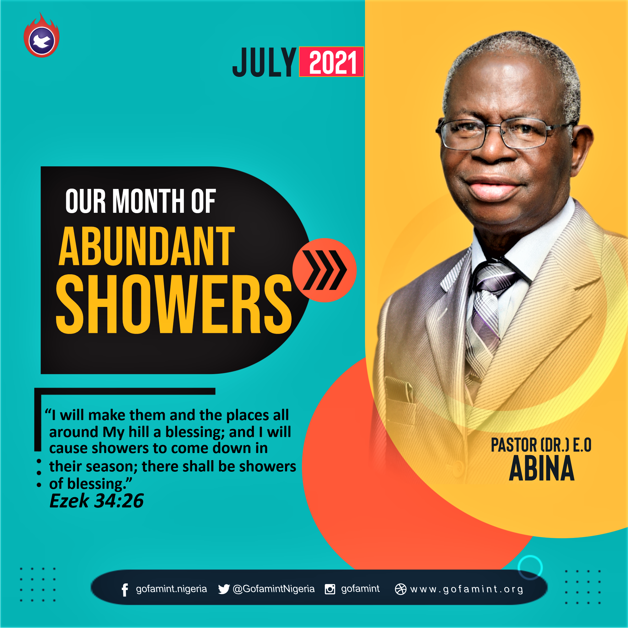PROPHETIC DECLARATION FOR THE MONTH OF JULY 2021