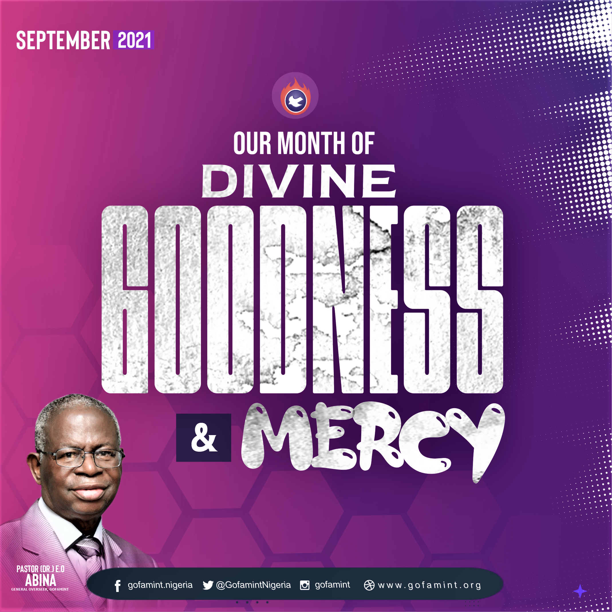 PROPHETIC DECLARATION FOR THE MONTH OF SEPTEMBER 2021