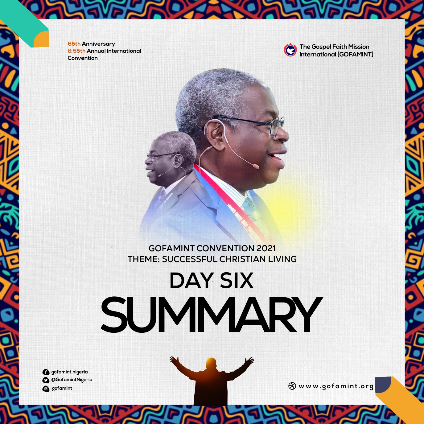 Convention 2021 Day 6 Summary