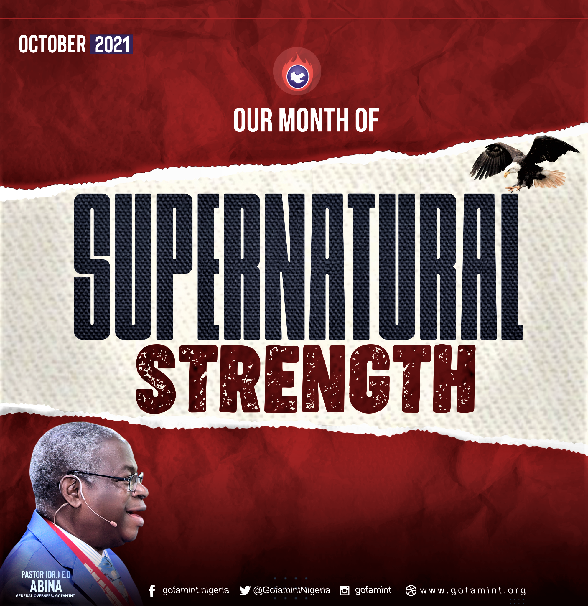 PROPHETIC DECLARATION FOR THE MONTH OF OCTOBER 2021